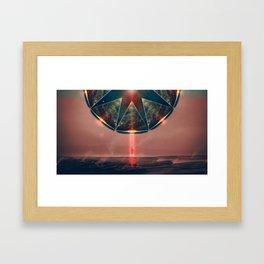Alien force Framed Art Print