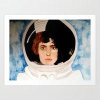 ripley Art Prints featuring ripley by TatumFlynn