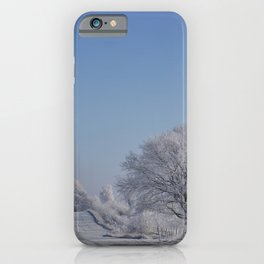 Winter Wonderland Magical Snow Landscape iPhone Case