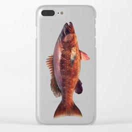 Cubera Snapper Clear iPhone Case