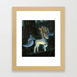 Keldeo Appears Framed Art Print