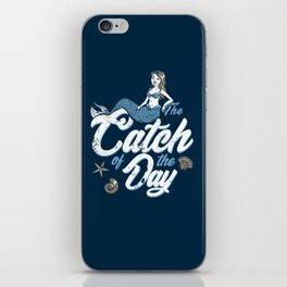 The Catch of the Day iPhone Skin