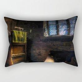 In a church Rectangular Pillow