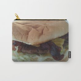 Bacon Cheeseburger Carry-All Pouch