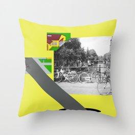 Mekleptein Throw Pillow