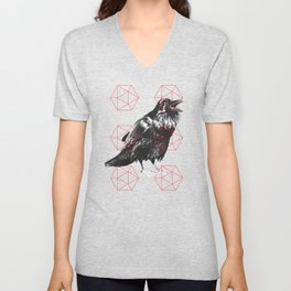 Sacred Raven Unisex V-Neck