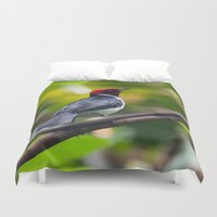 baltimore Duvet Covers featuring Baltimore Aquarium Series 3 by Sarah Shanely Photography