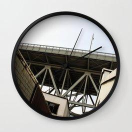 Under The Bridge Wall Clock