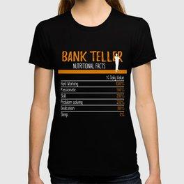 Bank Teller Ingredients T-shirt