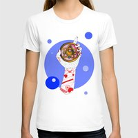 the moon T-shirts featuring Moon by scoobtoobins
