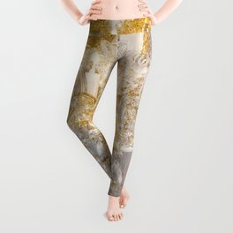 Shabby Glam Chandelier Leggings