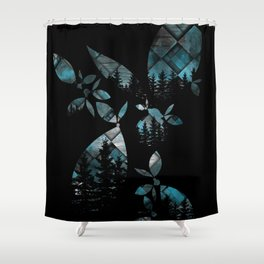 After What Remix Shower Curtain
