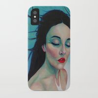 swallow iPhone & iPod Cases featuring Swallow by Bridget Baldwin