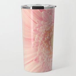Pastel Pink Macro Travel Mug
