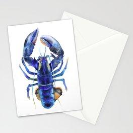 Blue Lobster №1 Stationery Cards