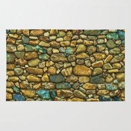 Natural Rock Wall Art Design Rug