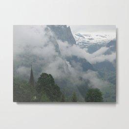 Falling Clouds 1 Metal Print