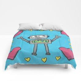 Love Robot Comforters