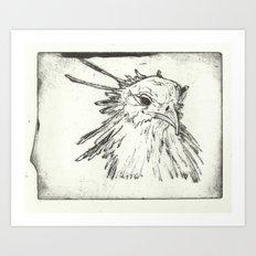 Hey pretty birdie Art Print