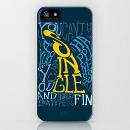 Single Fin - Surf iPhone Case