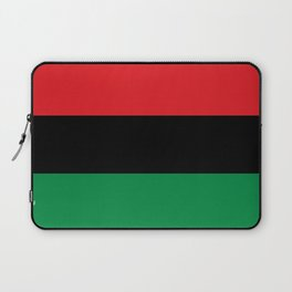 Pan African RBG Flag Bespoke Laptop Sleeve