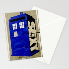 Minimalist Doctor Who  - SEXY TARDIS Stationery Cards