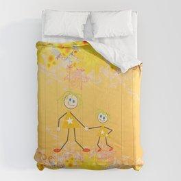 I Love My Mum Comforters
