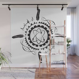 Native Stem Mandala Wall Mural