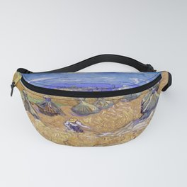 """Vincent van Gogh """"Wheat Stacks with Reaper"""" Fanny Pack"""
