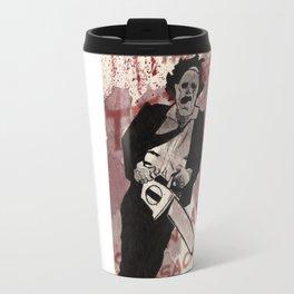 Leatherface Travel Mug