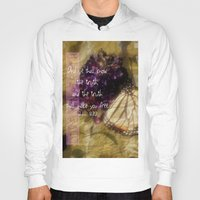 verse Hoodies featuring Truth - Verse by Anita Faye