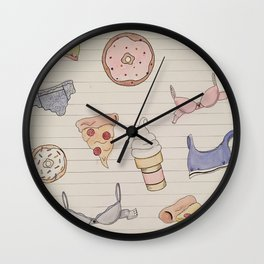 Treats n Undies Wall Clock