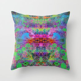 Wing Ears Totem Throw Pillow