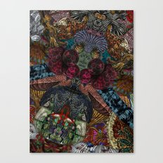 Psychedelic Botanical 14 Canvas Print
