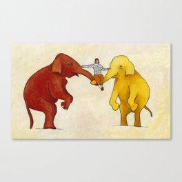 My Elephants Canvas Print