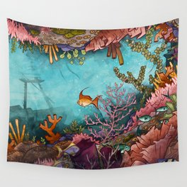 Submerged Wall Tapestry