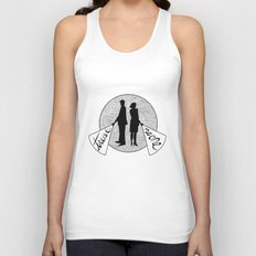 trust no one Unisex Tank Top