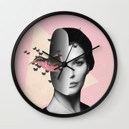 The caged bird sings    Wall Clock