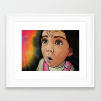 bubbles Framed Art Prints featuring Bubbles by Kevin Rogerson
