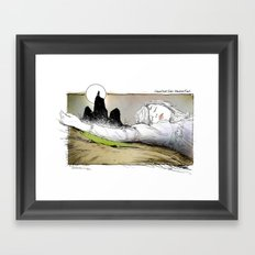 PICNIC AT HANGING ROCK Framed Art Print