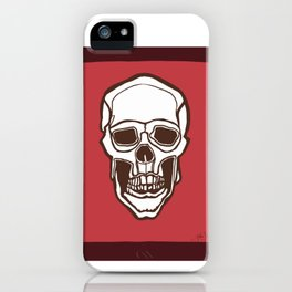 Mannequin of Death (red palette) iPhone Case
