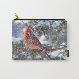 Let It Snow (Northern Cardinal) Carry-All Pouch