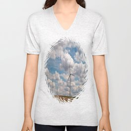 Where the Wind Blows Unisex V-Neck
