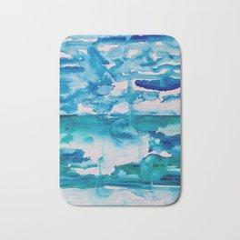 Cabo Beach Mexico Watercolor #2 Bath Mat