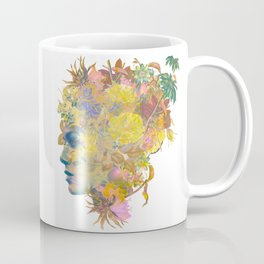 Tropical Woman Coffee Mug