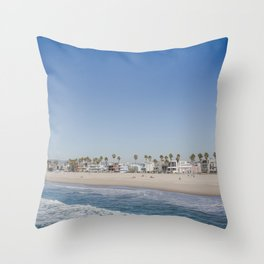 California Dreamin - Venice Beach Throw Pillow