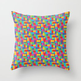 Building Blocks SM Throw Pillow