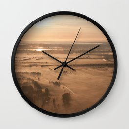 Misty SunRise Wall Clock