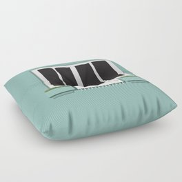 Porto window_01 Floor Pillow