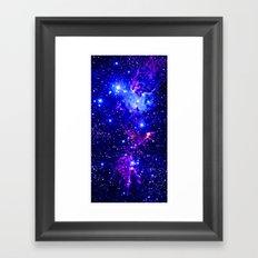 Fox Nebula Galaxy  Framed Art Print